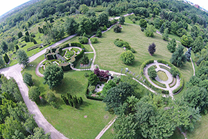 Guelph Arboretum - from above